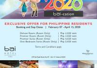 Exclusive Bai-cation Offer for Philippine Residents!!