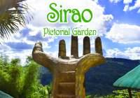 """A popular local spot in Cebu """"Sirao Pictorial Garden"""""""