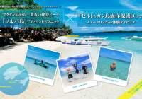 セブの絶景ビーチ「ソルパ島」でアイランドピクニック&海洋保護区でスノーケリング or 体験ダイビング