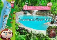 セブ島の癒しスポット『ドゥラノエコファーム』自然に湧き出る冷泉で作られた8つの天然プール