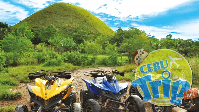 zoomバーチャル背景, ボホール島,チョコレートヒルズ,バギー,BOHOL, 南国
