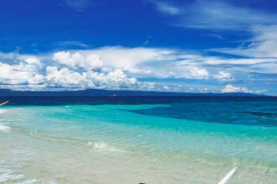 【zoomバーチャル背景対応】「無人島(バゴンバヌア島)」