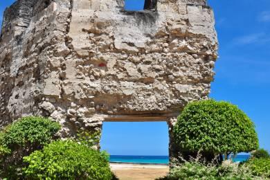 【zoomバーチャル背景対応】オスロブ異国情緒あふれる「バルアルテ要塞跡」