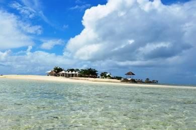 【zoomバーチャル背景対応】海上から見るパンダノン島(Pandanon Island)