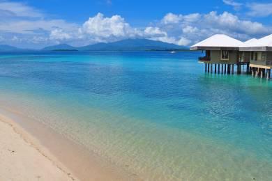 【zoomバーチャル背景対応】1島1リゾートのドスパルマスアイランドのビーチ