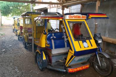 フィリピンの交通手段トライシクル