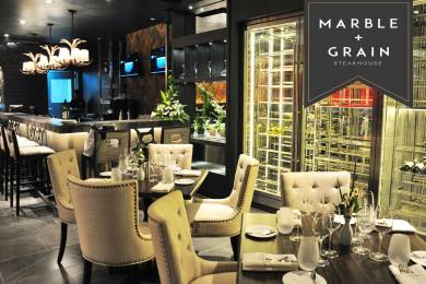 Marble+Grain steakhouse #